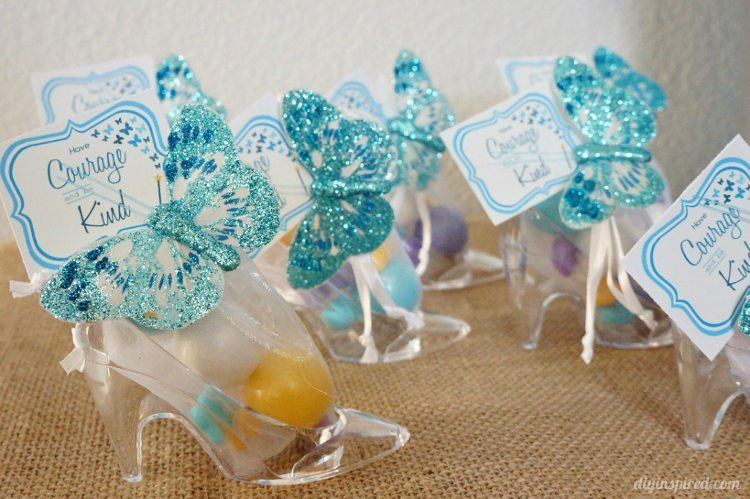 Cinderella Party Favors Glass Slippers