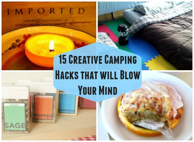 Creative Camping Hacks That Will Blow Your Mind