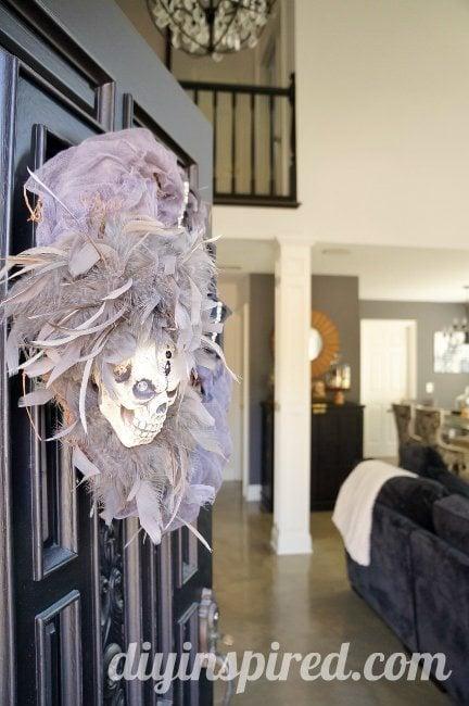Eerie DIY Halloween Wreath