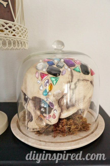 Halloween Jeweled Skull