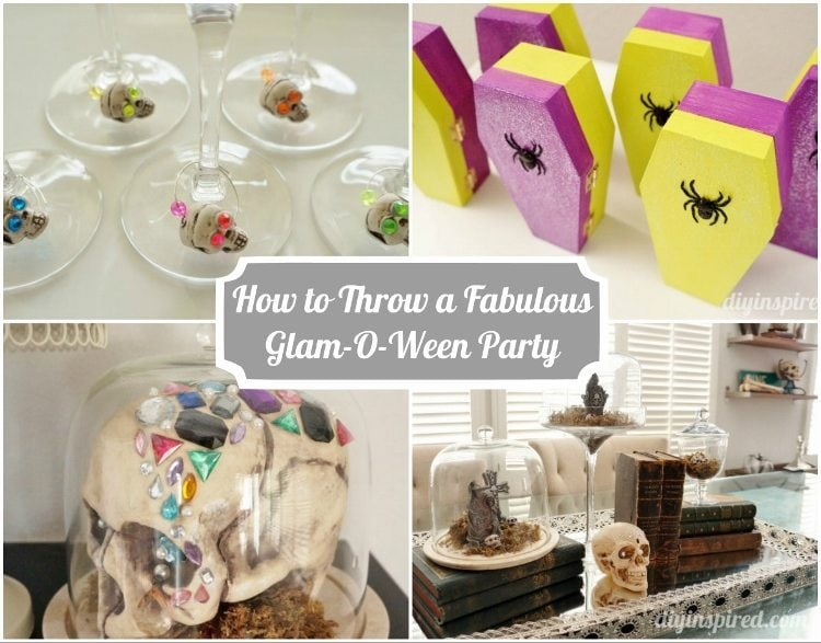 How to Throw a Fabulous Glam-O-Ween Party DIY Inspired