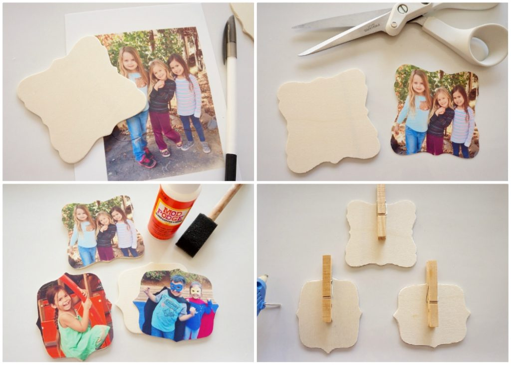 Make Your Own Photo Clips - DIYInspired