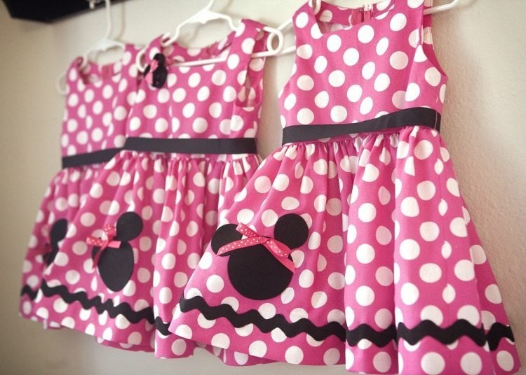 Minnie Mouse Birthday Party Dresses