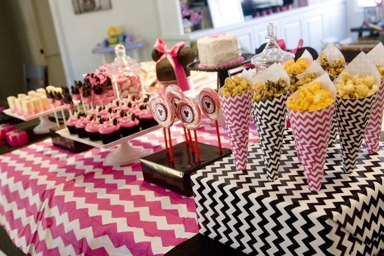 Minnie Mouse Birthday Party Sweet Treats