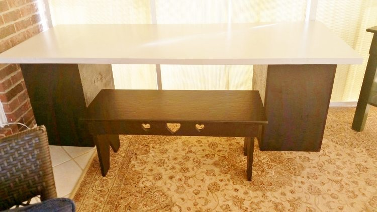 Trash to Treasure: Repurposed Desk