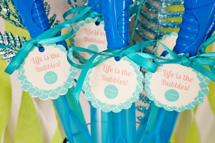 The Little Mermaid Party Favors - DIYInspired