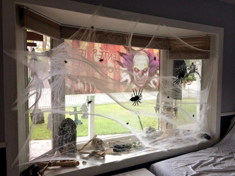 Halloween Bay Window Decorations (1)