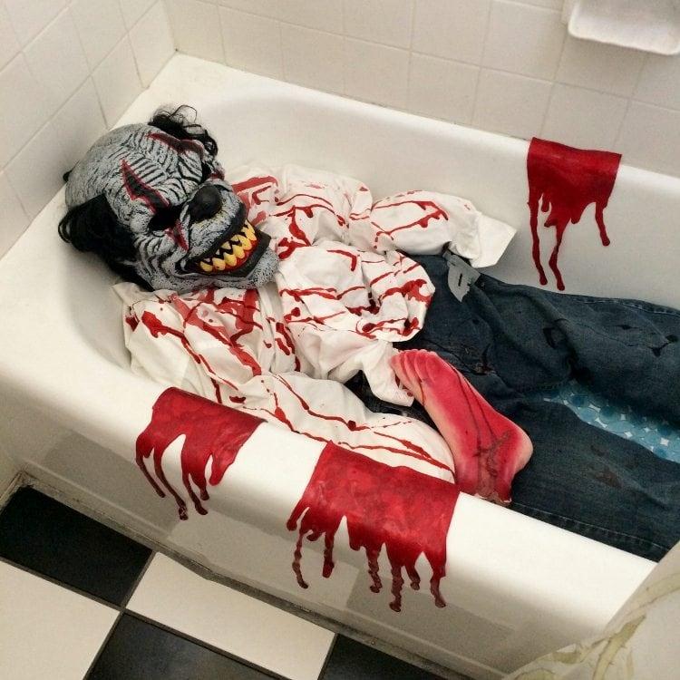 Halloween Masacred Body