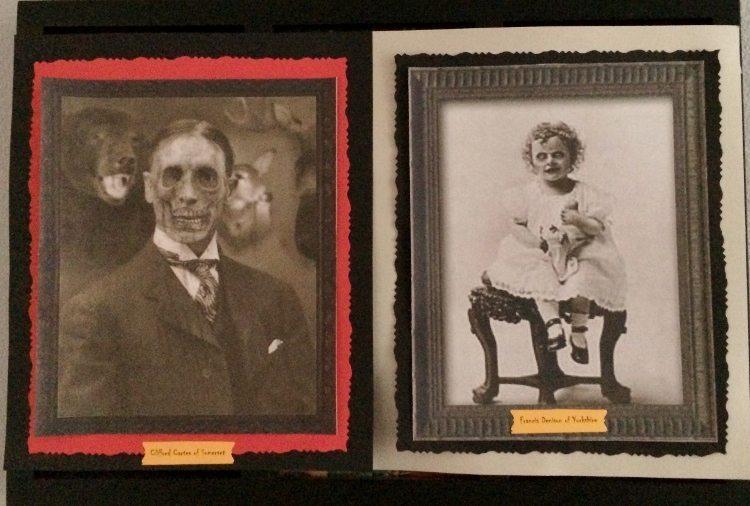 Haunted Halloween Eerie Portraits