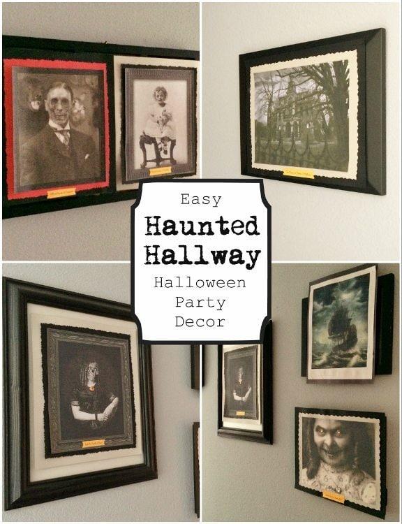 Haunted Halloween Hallway DIY Inspired