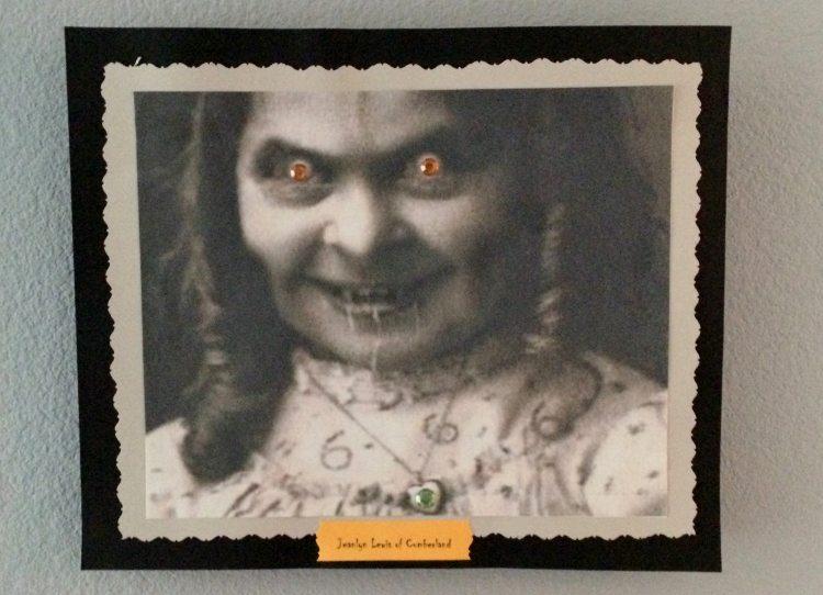 Haunted Halloween Party Portrait
