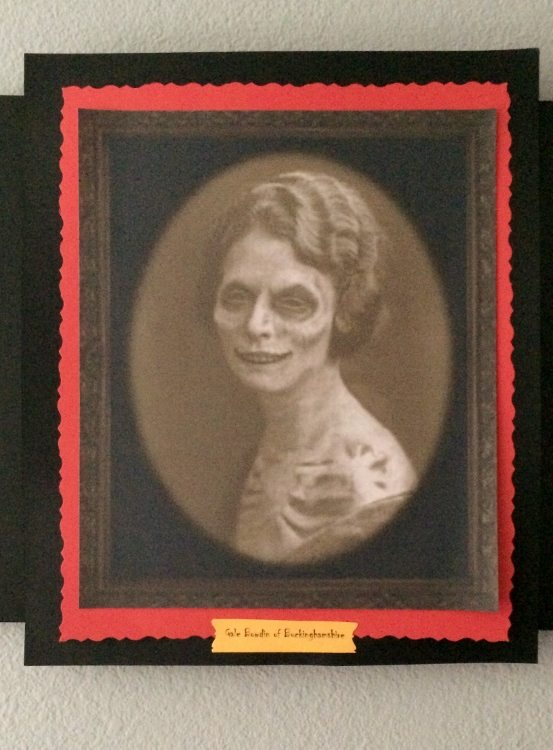 Haunted Halloween Scary Pictures DIY