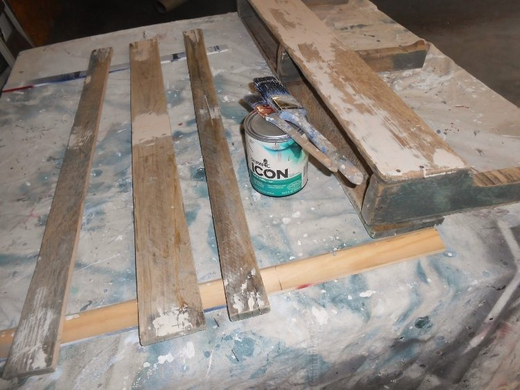 Kitchen Organizer from Pallet Scraps How To