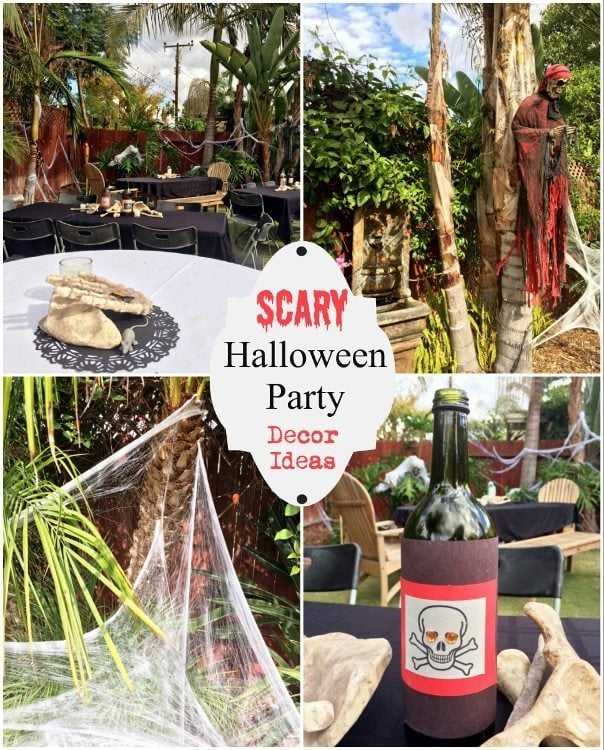 Scary Halloween Party Decor Ideas