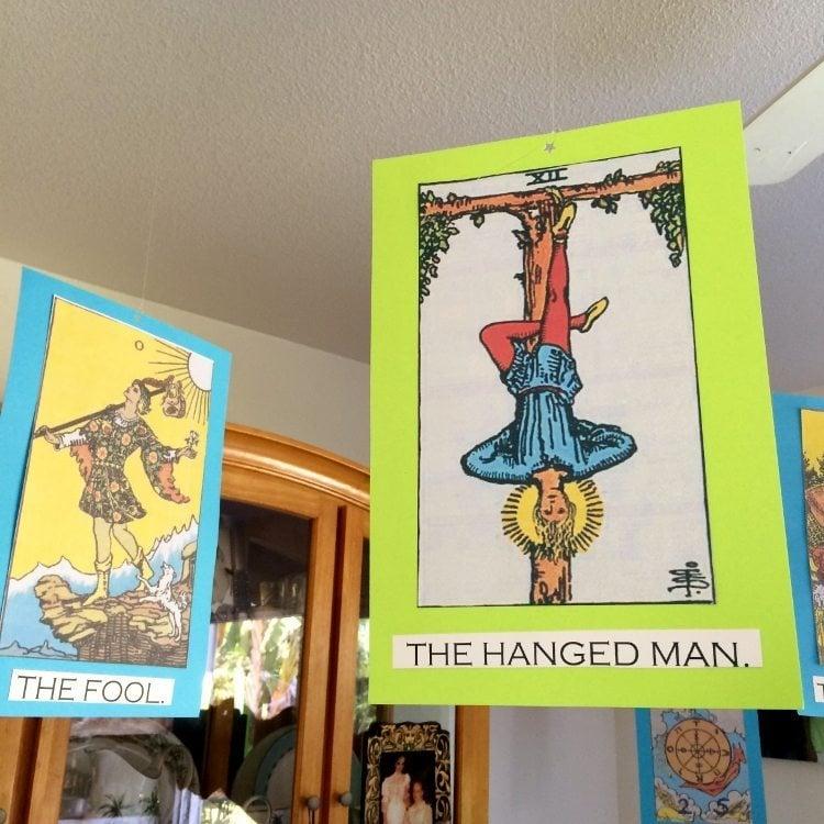 Tarot Cards Halloween Decoration (1)