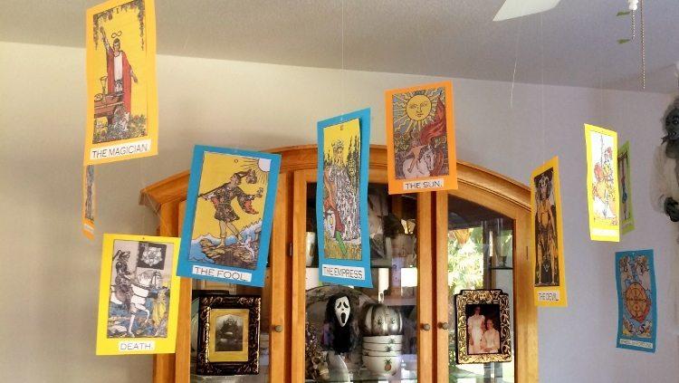 Tarot Cards Halloween Decoration (2)