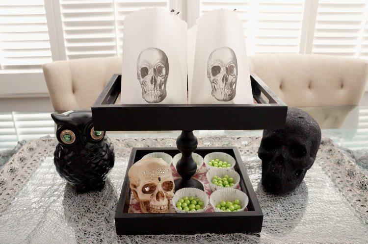 Upcycled Halloween Tray DIY