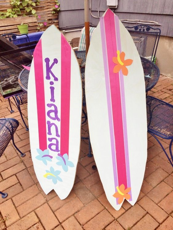 Beach Party Birthday Surfboards
