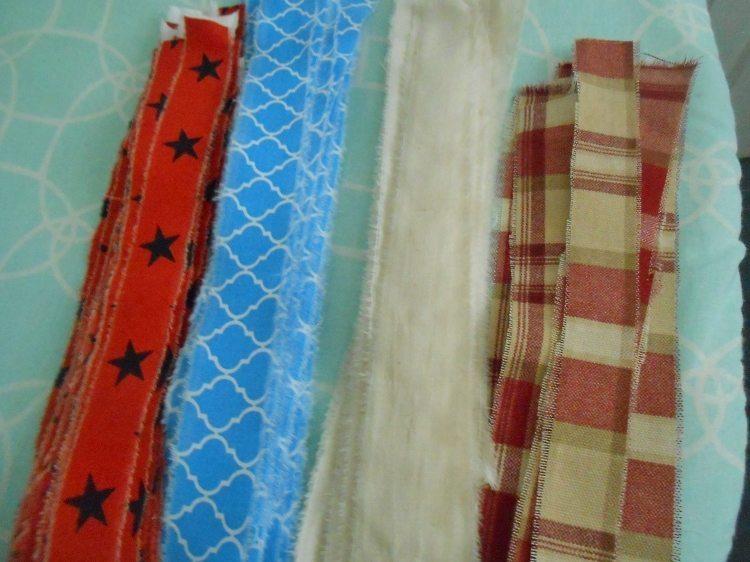 DIY Rag Balls Fabric Scraps