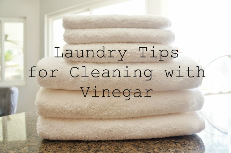 Laundry Tips for Cleaning with Vinegar