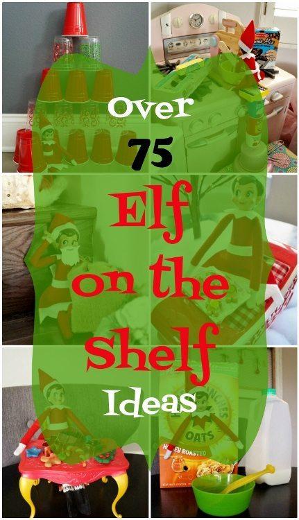 Over 75 Elf on the Shelf Ideas DIY Inspired