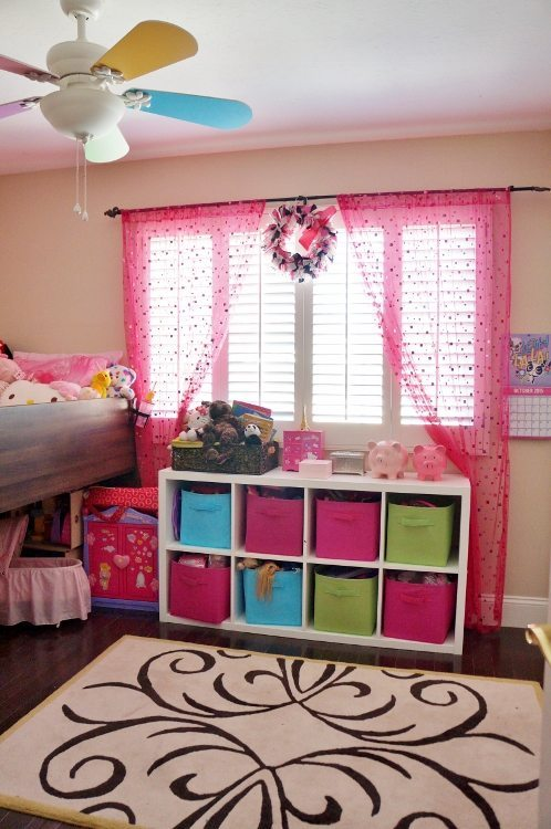 Plantation Shutters Kid's Room