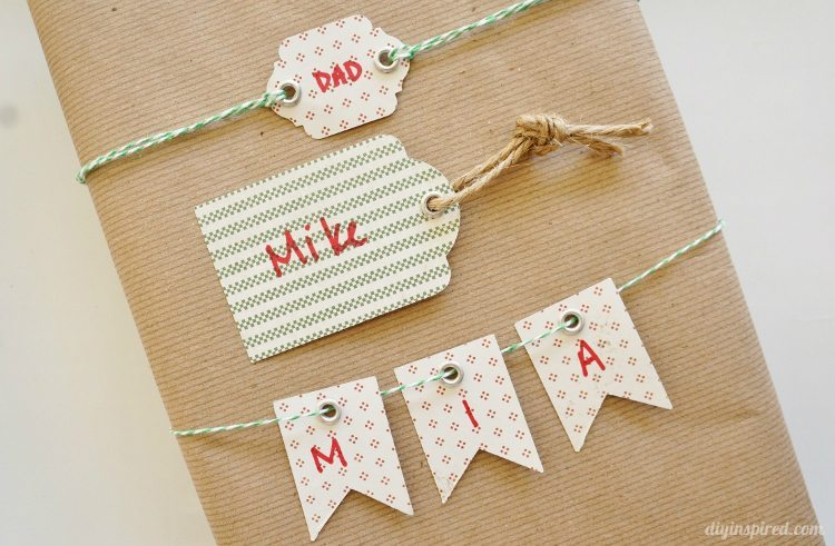 DIY Gift Tags and Giveaway