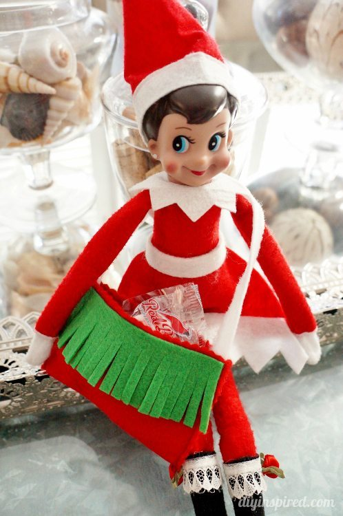 Elf on the Shelf DIY Messenger Bag DIY Inspired