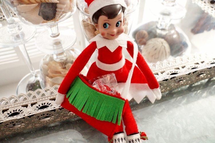 Elf on the Shelf DIY Messenger Bag