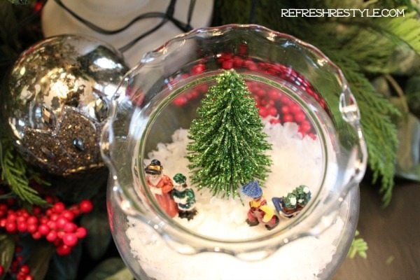 Mini Snow Globe DIY