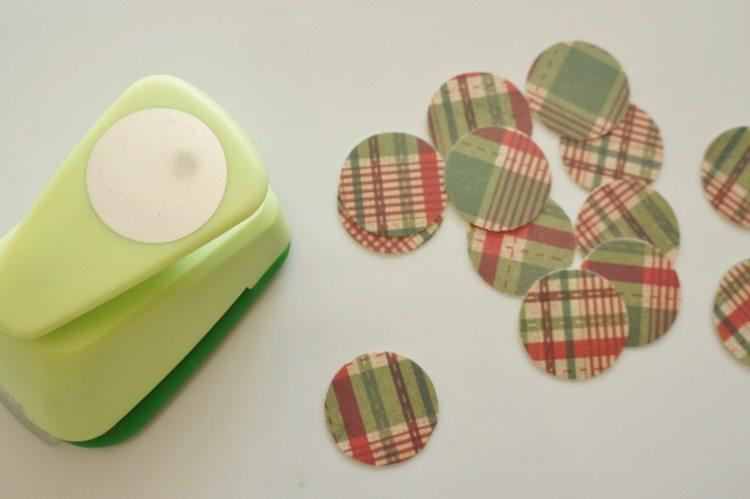 Paper Pine Cone Craft