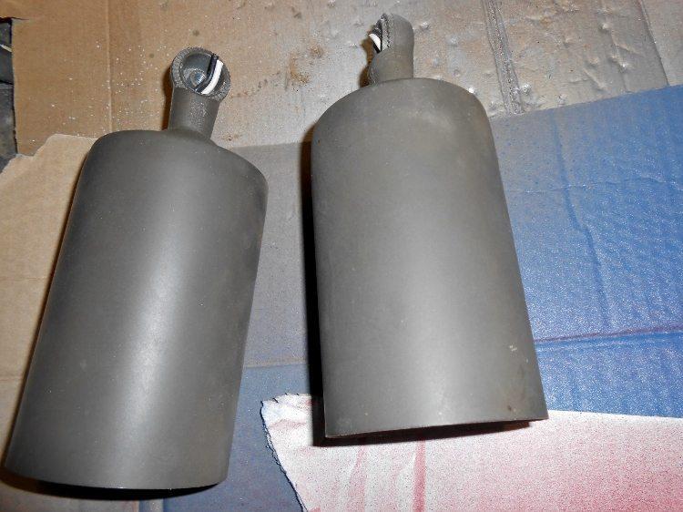 Repurposed Light Fixture Christmas Bells