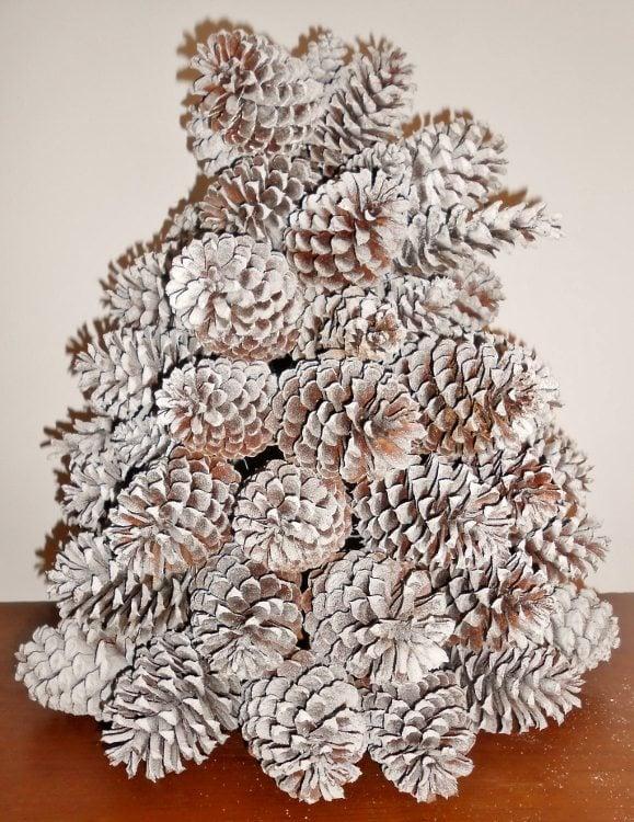 Repurposed Pine Cone Christmas Tree - DIY Inspired