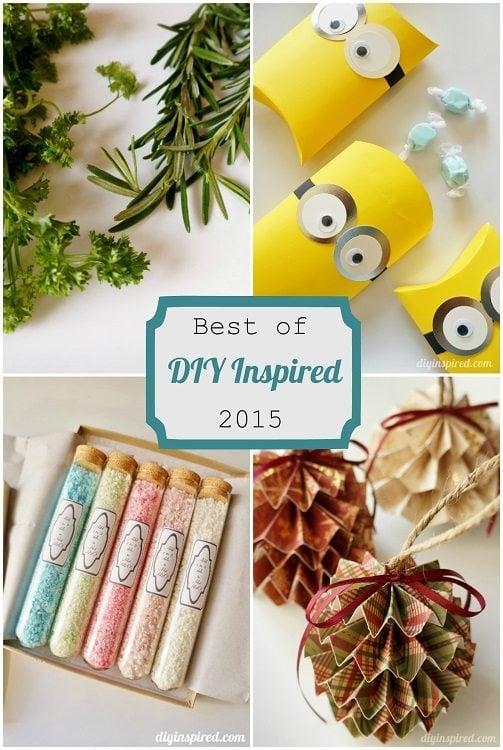 Best of DIY Inspired 2015 dyinspired.com