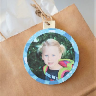 Photo Christmas Gift Tags