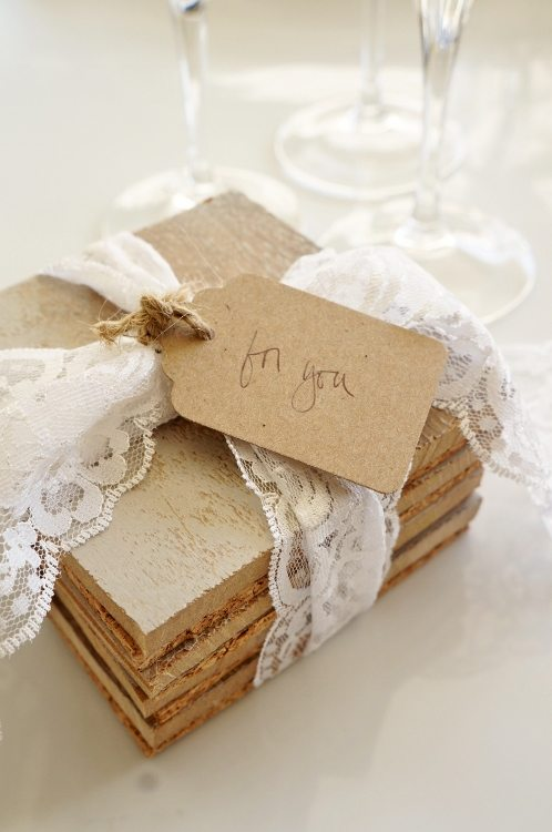 DIY Repurposed Coasters Gift Set DIYInspired.com