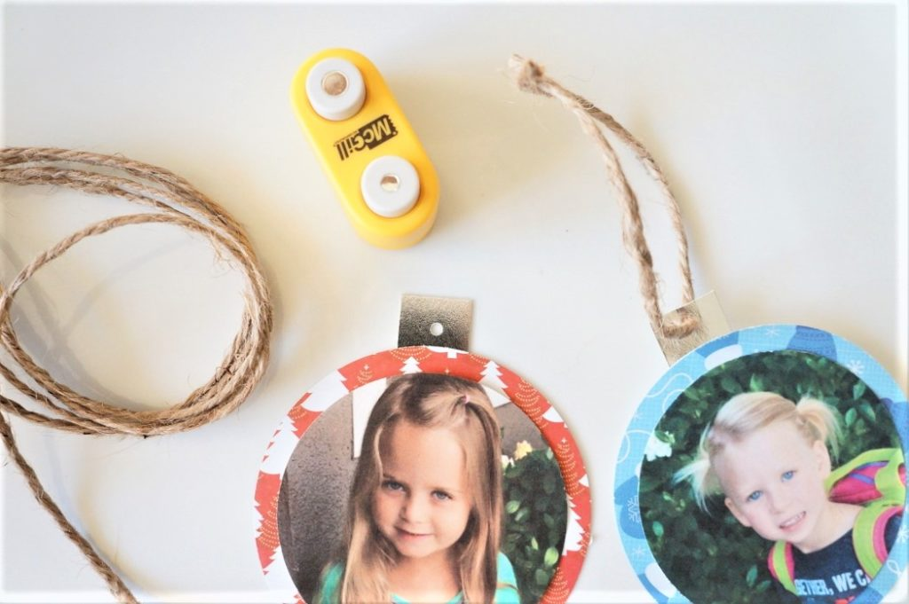 Easy Photo Gift Tags DIY