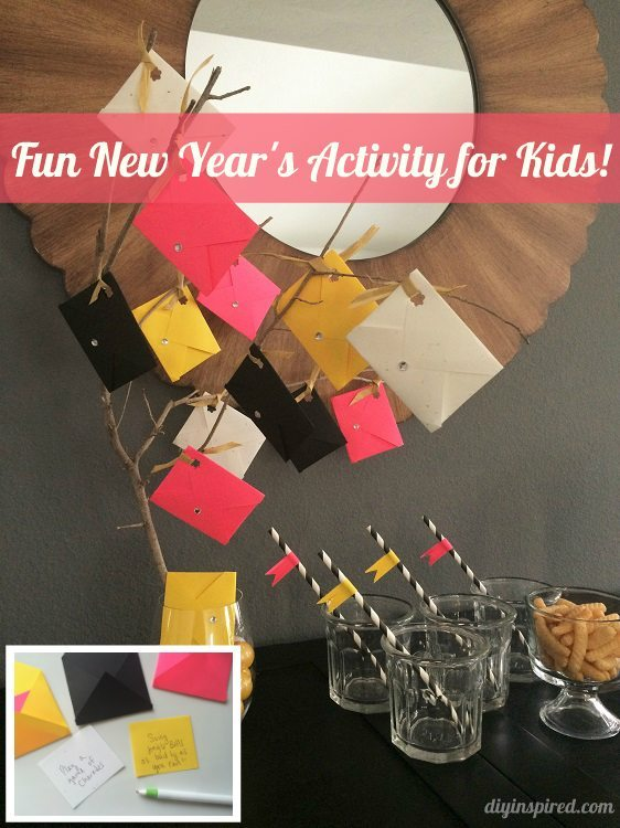 Fun New Years Party Activity for Kids DIY Inspired