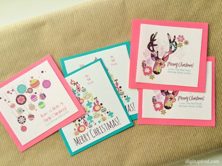 How To Make Your Own Gift Tags With Free Graphics Diy Inspired