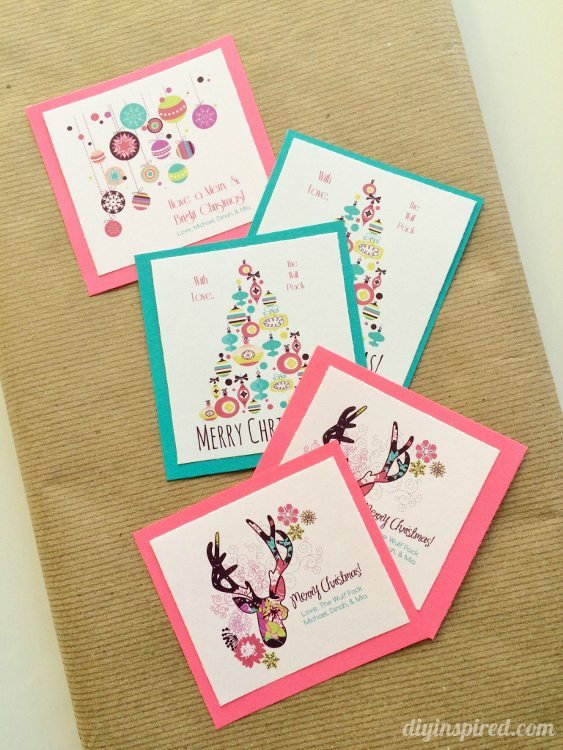 How to Make Your Own Gift Tags with Graphics for Free
