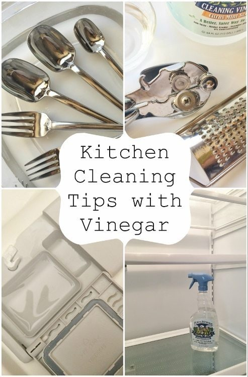 Kitchen Cleaning Tips with Vinegar DIYInspired.com