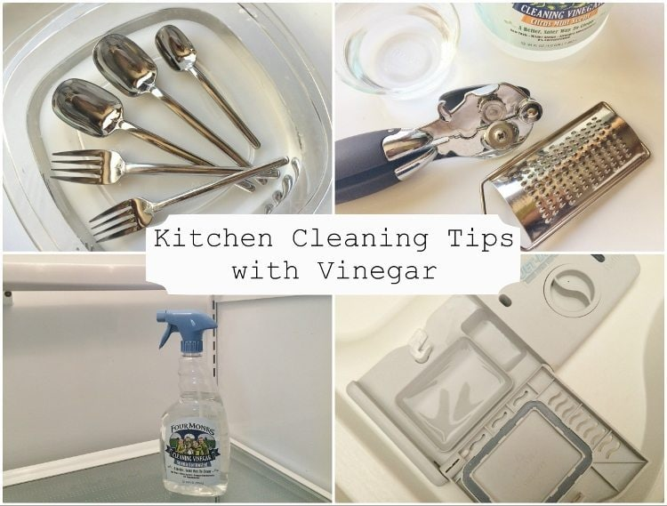 Kitchen Cleaning Tips with Vinegar