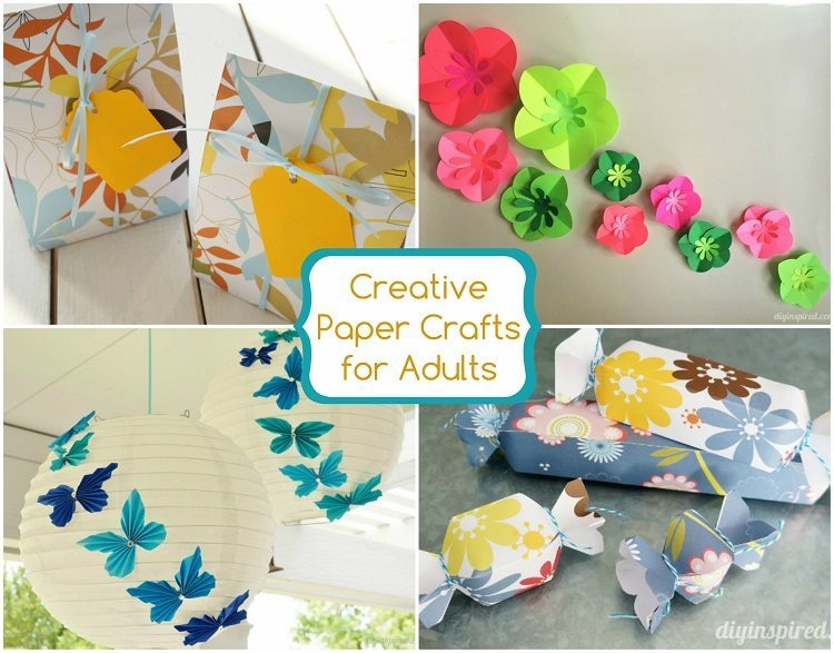 27 Creative Paper Crafts for Adults