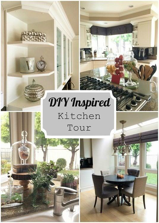 DIY Inspired Kitchen Tour
