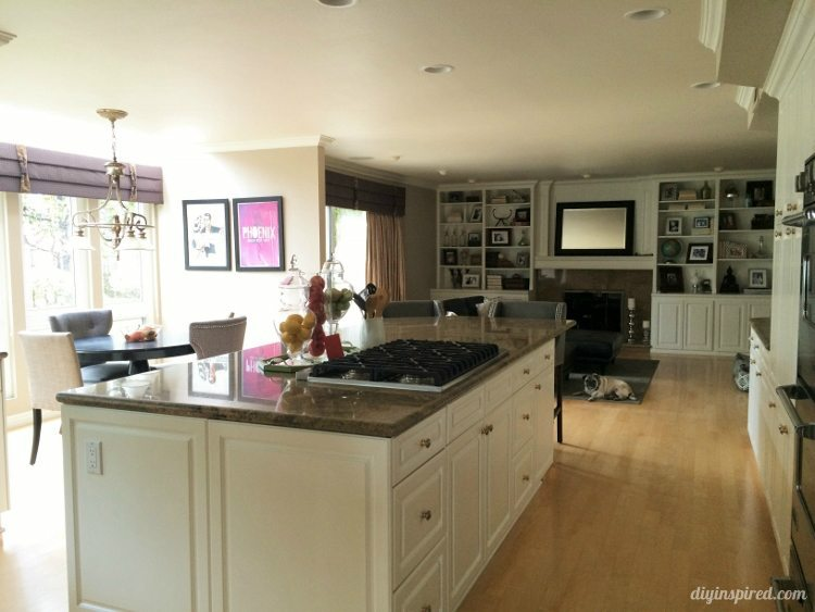 DIY Inspired Kitchen Tour Kitchen Island