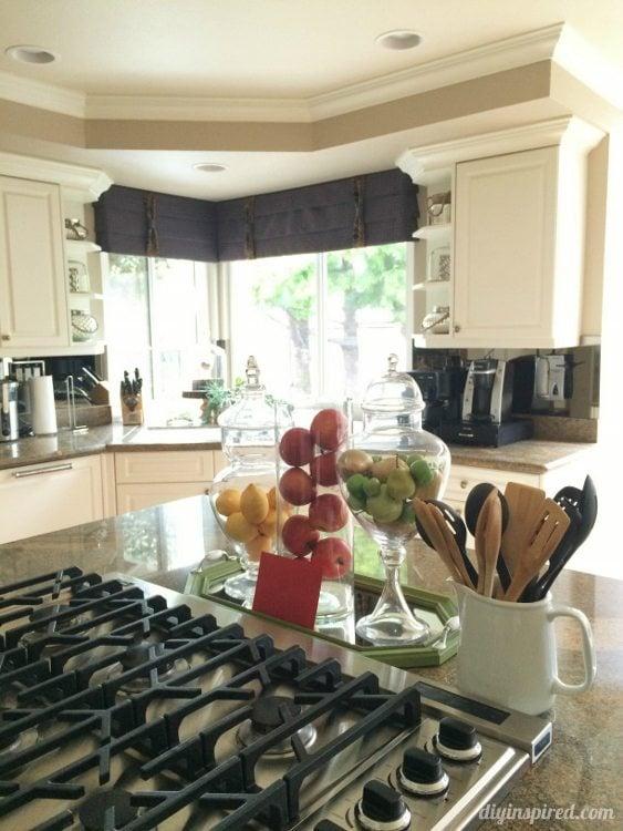 DIY Inspired Kitchen Tour Range