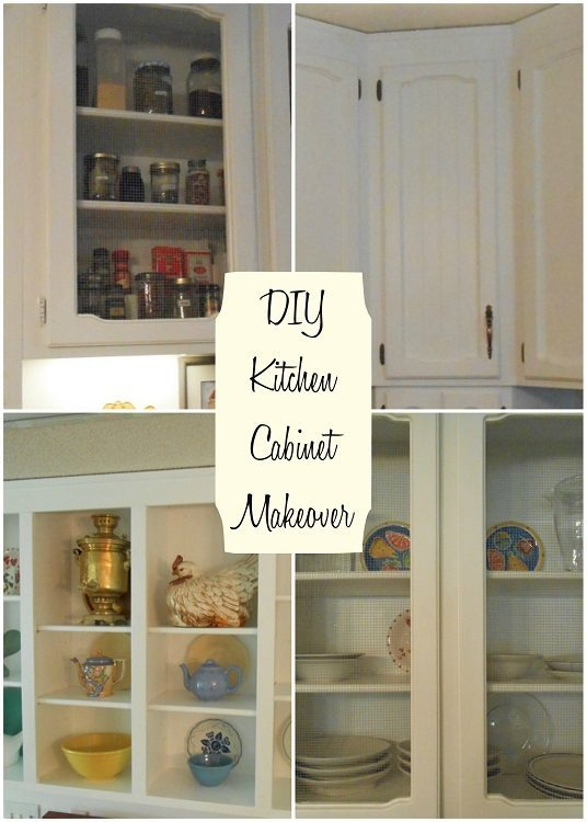 DIY Kitchen Cabinet Makeover DIY Inspired