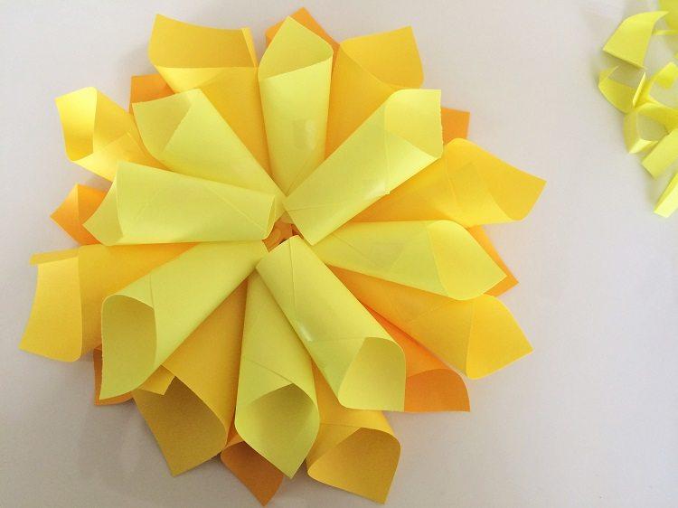 DIY Paper Flower Craft
