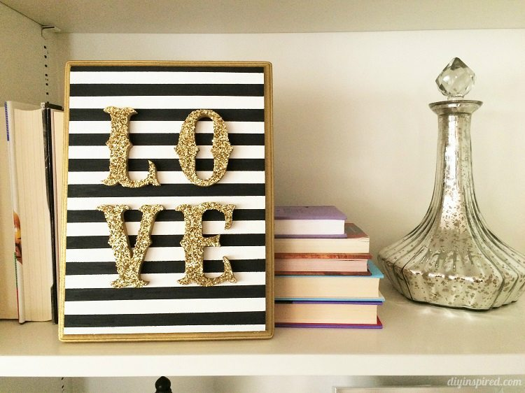 DIY Wooden LOVE Sign