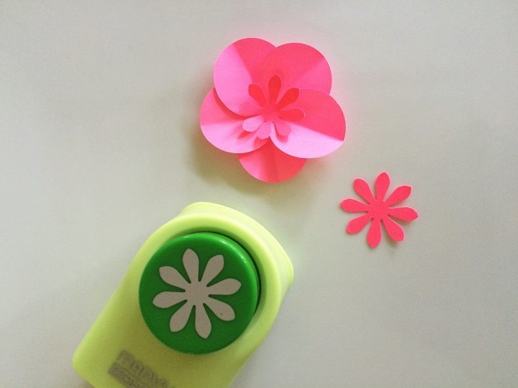 Easy Paper Flowers with Punches